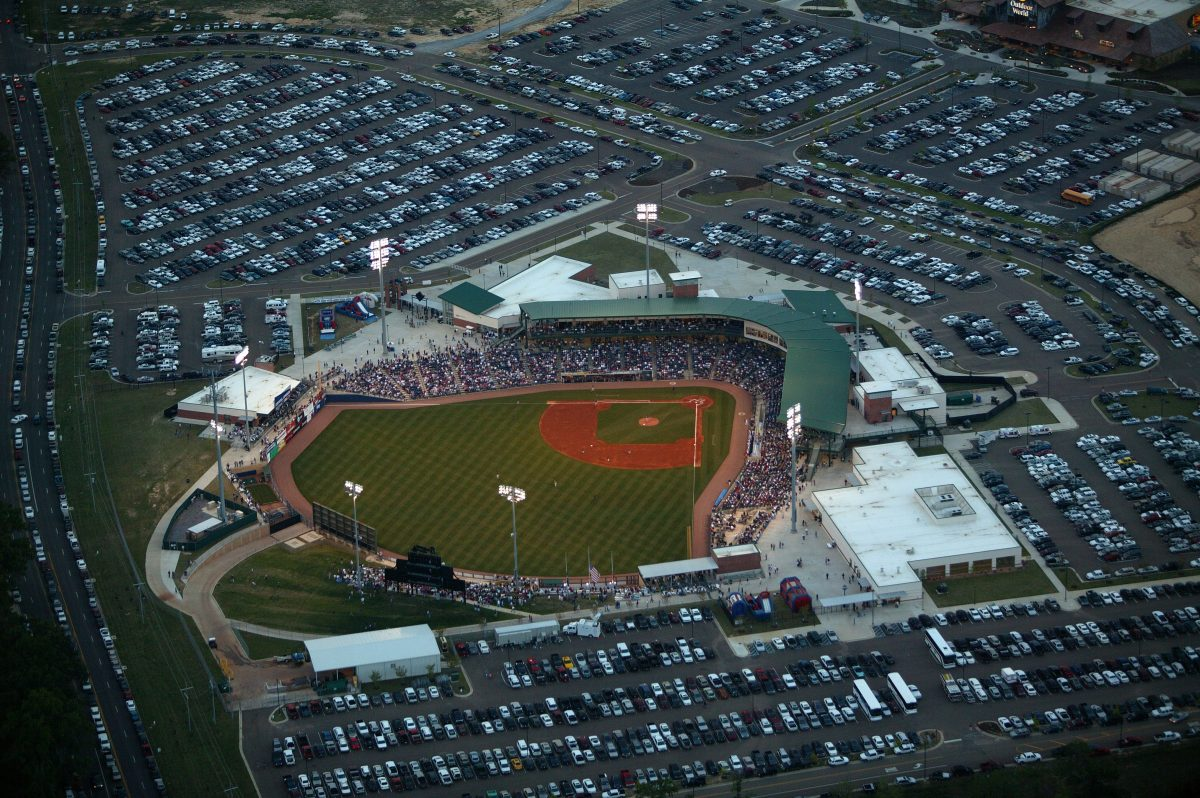 Trustmark Park - Baseball Stadium of Mississippi Braves